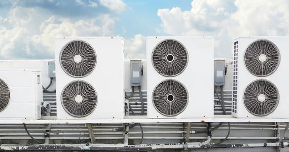 Klimaanlagen im Firmengebäude