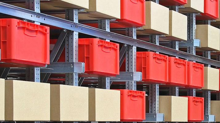 Behälter für Lean-Management