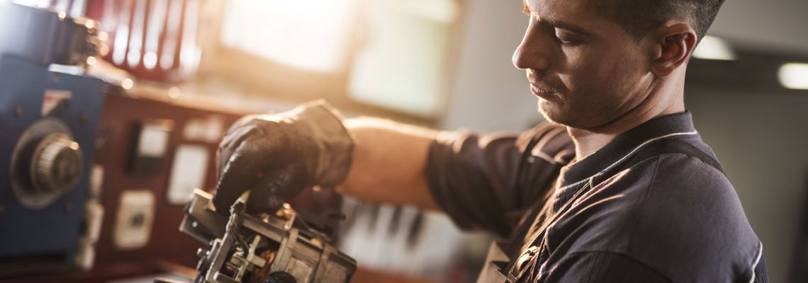 Service im Maschinenbau