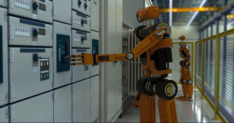 Industrie 4.0 Maschine
