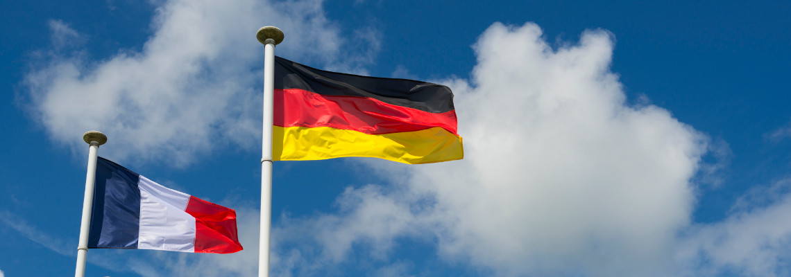 Deutsch-französische Handelsfreundschaft