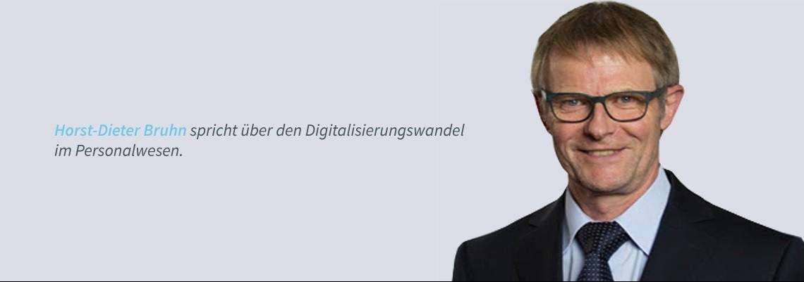 Horst-Dieter Bruhn - HR im Digitalisierungswandel