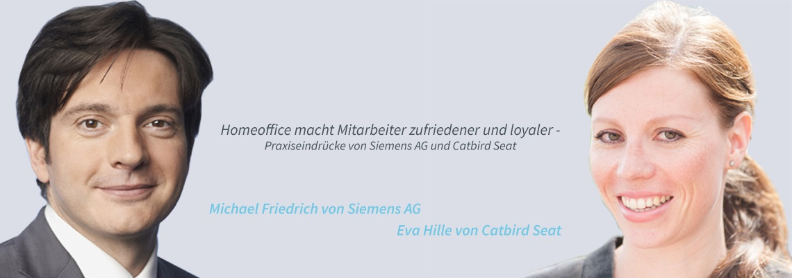 Michael Friedrich, Eva Hille - Homeoffice