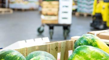 Transportwege für nicht-lokale Lebensmittel